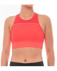 1fa79d2ae96d5 Lyst - New Balance Determination Bra Top in Yellow