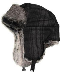 Chaos - Plaid Trapper Hat - Lyst