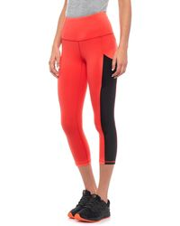The North Face - Motivation High-rise Pocket Crop Tights (for Women) - Lyst