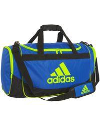 345b950a1a Lyst - Adidas Defense Duffel Bag in Blue for Men