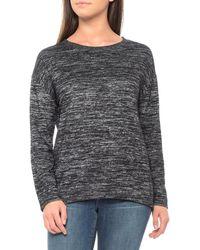 Tahari - Drop Shoulder Hi-lo Shirt - Lyst