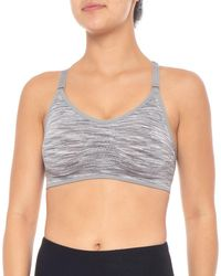 f96f5255d1 New Balance - Padded T-back Sports Bra - Lyst