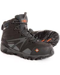 Merrell - Trailwork Mid Work Boots - Lyst