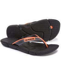 6924fcb0f Lyst - Havaianas Power Flip Flops in Black for Men