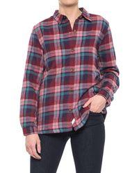 Woolrich - Pemberton Flannel Shirt Jacket - Lyst