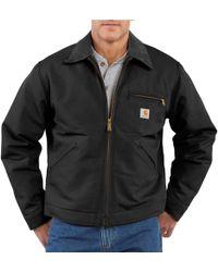 Carhartt J001 Detroit Duck Jacket - Black