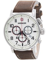 Wenger - Attitude Luminous Dial Chronograph Watch - Lyst