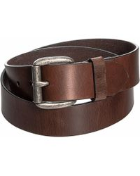 Frye - 38mm Oiled Leather Pull-up Panel Belt (for Men) - Lyst