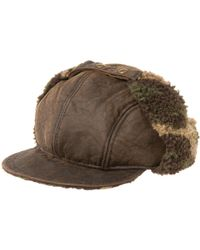 Henschel - Packable Waxed-cotton-blend Hat - Lyst