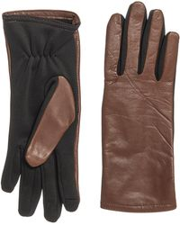 Gloves International - Leather Soft Shell Gloves - Lyst