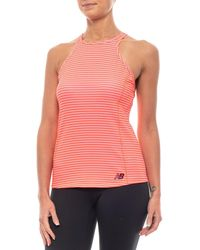 27df89ee8ccde New Balance - Printed Rally Court Tank Top (for Women) - Lyst