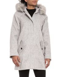 G.H.BASS - Wool Blend Coat (for Women) - Lyst