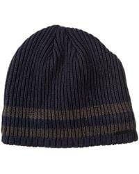 dc49aff52b7 Rainforest - Sherpa-lined Marled Striped Beanie - Lyst