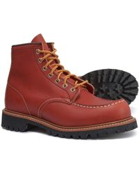 Red Wing Heritage 6? Moc-toe Work Boots - Red