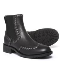 Boemos - Made In Italy Studded Chelsea Boots - Lyst