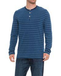 True Grit - Zuma Stripe Henley Shirt - Lyst