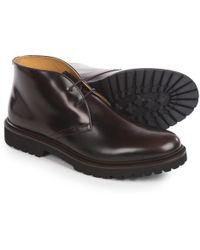 Armani - Chukka Boots - Lyst
