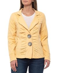 7bd2a7199f5512 Neon Buddha - Butter Morgan Ruched Jacket (for Women) - Lyst