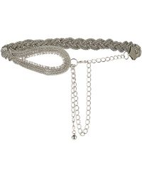 Simply Be - Chain Waist Belt - Lyst