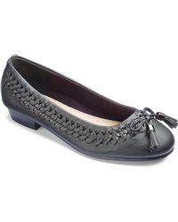 Simply Be - Sole Diva Interweave Ballet Flats - Lyst