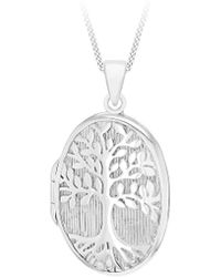 Simply Be - Tree Of Life Locket Necklace - Lyst