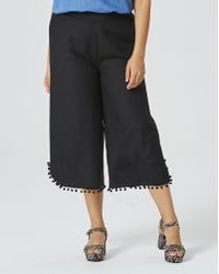 277556e9228 Lyst - Style   Co. Plus Size Pom-pom Pull-on Pants