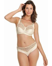 Royce - Champagne Non Wired Support Bra - Lyst