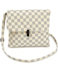 ab8ea6b3615 BDG Yellow Checked Bum Bag - Womens All in Yellow - Lyst