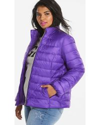 Simply Be - Bright Padded Jacket - Lyst