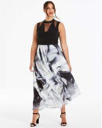 Coast - Riona Jacquard Dress - Lyst