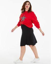a31909ef38 ARKET Stretch Scuba Pencil Skirt in Black - Lyst