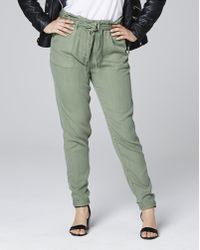 Simply Be - Lyocell Casual Cargo Pants - Lyst