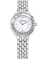 Swarovski - Lovely Crystals Silver Watch - Lyst