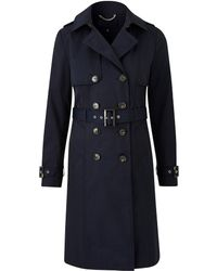 Simply Be - Petite Showerproof Trench Jacket - Lyst