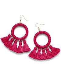 Simply Be - Thread Earrings - Lyst