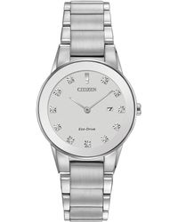 Citizen - Ladies Diamond Set Watch - Lyst