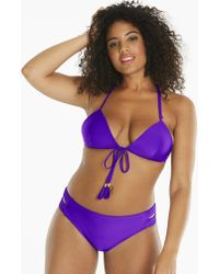 Womens Simply Yours Plaited Bikini Top Simply Be