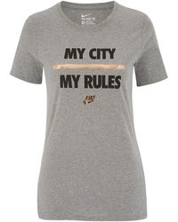 Nike - My City My Rules T-shirt - Lyst