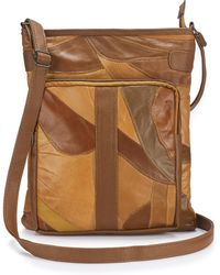 Simply Be - Leather Across Body Bag - Lyst