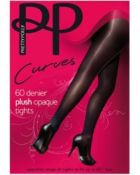 Pretty Polly - Curves Opaque Tights - Lyst