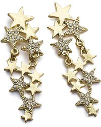 Simply Be - Star Statement Earrings - Lyst
