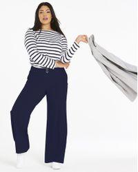 Womens Tailored Wide Leg Trousers Simply Be dxNdBVDB0k