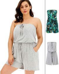 Simply Be - Pack Of Two Romper - Lyst