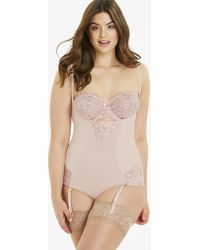 b6060deb2e6 Marks   Spencer · Simply Be - Magisculpt Ella Lace Wear Your Own Bra Blush Firm  Control Body - Lyst