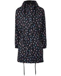 Simply Be - Petite Star Print Pac A Parka - Lyst