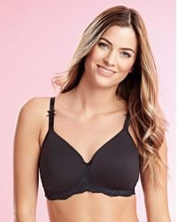Royce - Georgia Black Mastectomy Bra - Lyst