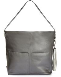 Simply Be - Leather Tassel Hobo Bag - Lyst