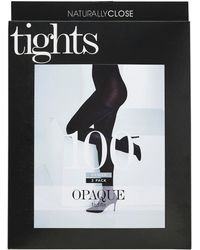 4930a624a1ecf Simply Be Magisculpt 100 Denier Black Firm Control Pantyhose in Black - Lyst