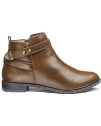 Simply Be - Rita Buckle Boots - Lyst