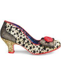 900bb90606 Lyst - Betsey Johnson Kiss Platform Evening Sandals in Blue
